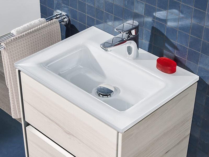 sanipa twiga glas waschtisch mit waschtischunterbau. Black Bedroom Furniture Sets. Home Design Ideas