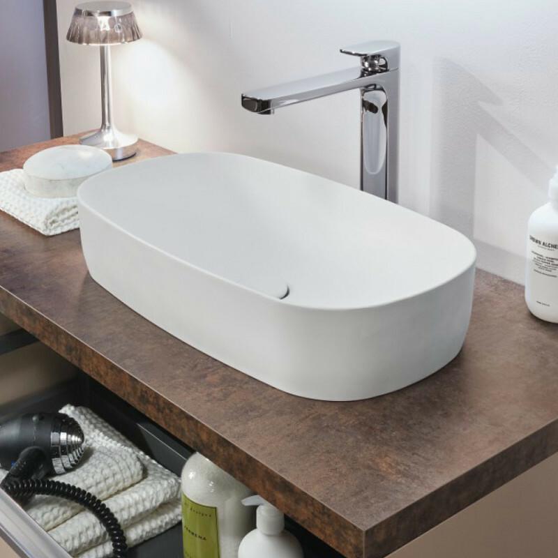 sanipa up2u mineralguss waschtisch. Black Bedroom Furniture Sets. Home Design Ideas
