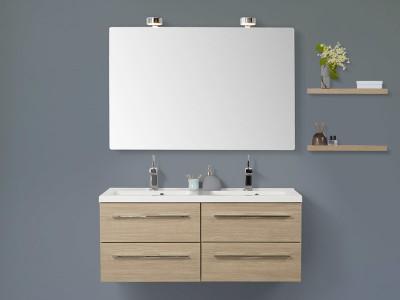 scanbad delta badm bel set 1200mm doppelwaschtisch. Black Bedroom Furniture Sets. Home Design Ideas