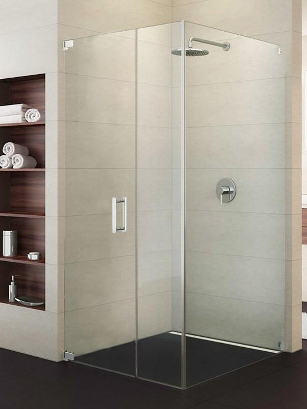 sprinz achat r plus eck duschkabine mit pendelt r 1 teilig und festteil. Black Bedroom Furniture Sets. Home Design Ideas