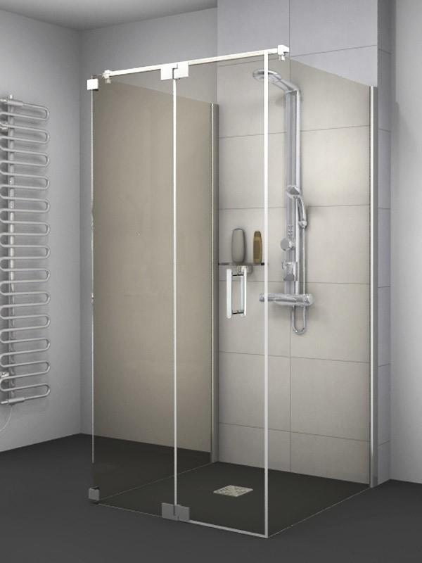 sprinz achat r plus u duschkabine mit pendelt r 1 teilig mit festteil. Black Bedroom Furniture Sets. Home Design Ideas