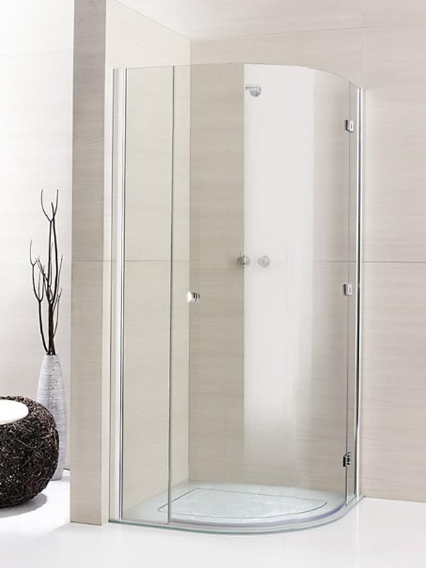 sprinz fortuna teilgerahmt viertelkreis duschkabine. Black Bedroom Furniture Sets. Home Design Ideas