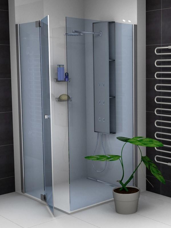sprinz omega eck duschkabine mit pendelt r 1 teilig. Black Bedroom Furniture Sets. Home Design Ideas