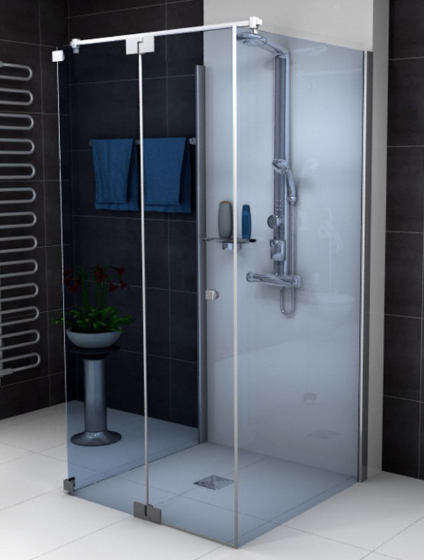 sprinz omega u duschkabine mit pendelt r. Black Bedroom Furniture Sets. Home Design Ideas
