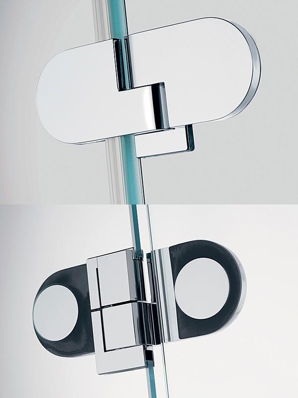 sprinz spinell plus f nfeck duschkabine mit zwei pendelt ren. Black Bedroom Furniture Sets. Home Design Ideas