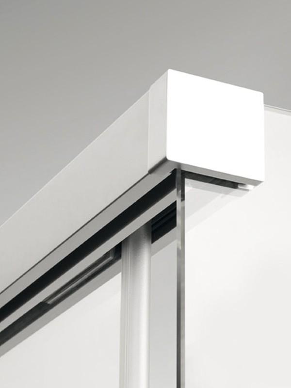 sprinz tansa eck duschkabine mit gleitt r 2 teilig und seitenwand. Black Bedroom Furniture Sets. Home Design Ideas