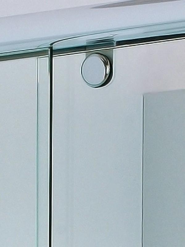 sprinz topas eckeinstieg duschkabine mit gleitt r 2 teilig. Black Bedroom Furniture Sets. Home Design Ideas