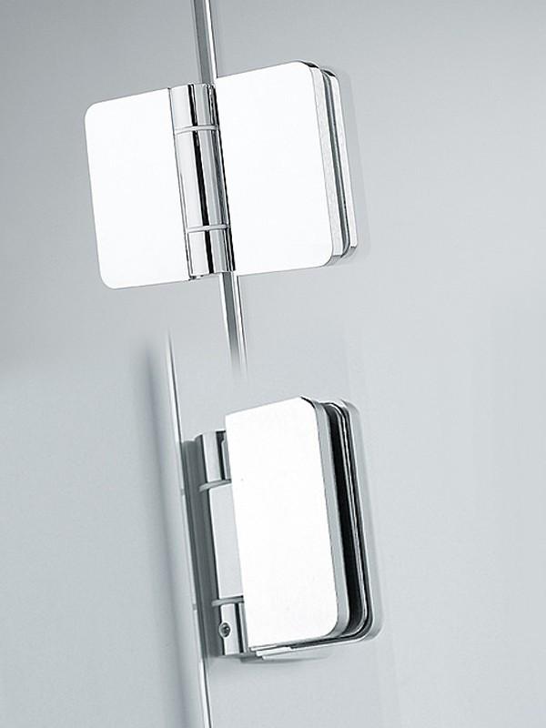 sprinz xxl eck duschkabine mit faltt r 2 teilig. Black Bedroom Furniture Sets. Home Design Ideas