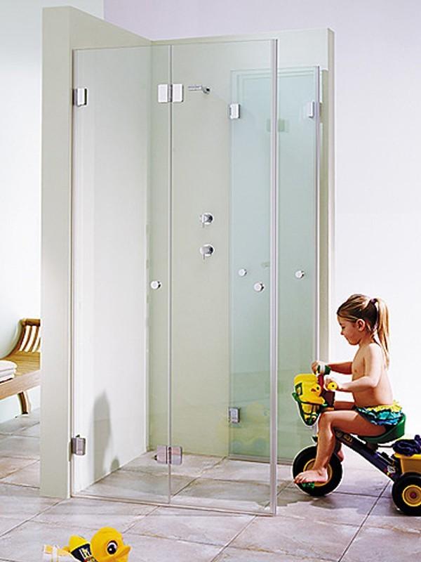 sprinz xxl eckeinstieg duschkabine mit faltt ren. Black Bedroom Furniture Sets. Home Design Ideas