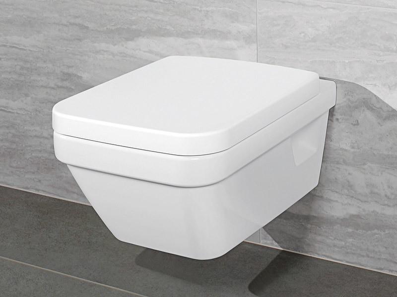 Villeroy & Boch Architectura Wand-WC spülrandlos Combi-Pack eckig