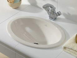 Villeroy & Boch Loop & Friends Einbauwaschtisch oval