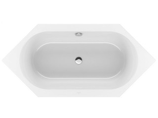 Villeroy & Boch Loop & Friends Square Duo Sechseck-Badewanne
