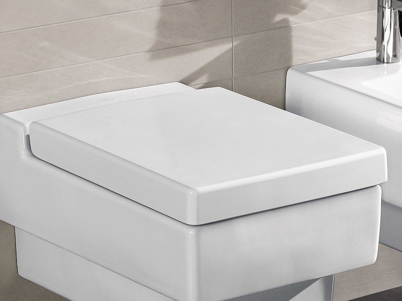 Villeroy & Boch Memento WC-Sitz weiß alpin