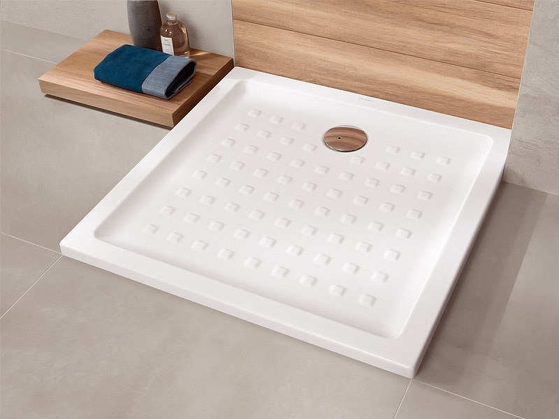 villeroy boch o novo keramik quadrat rechteck duschwanne. Black Bedroom Furniture Sets. Home Design Ideas