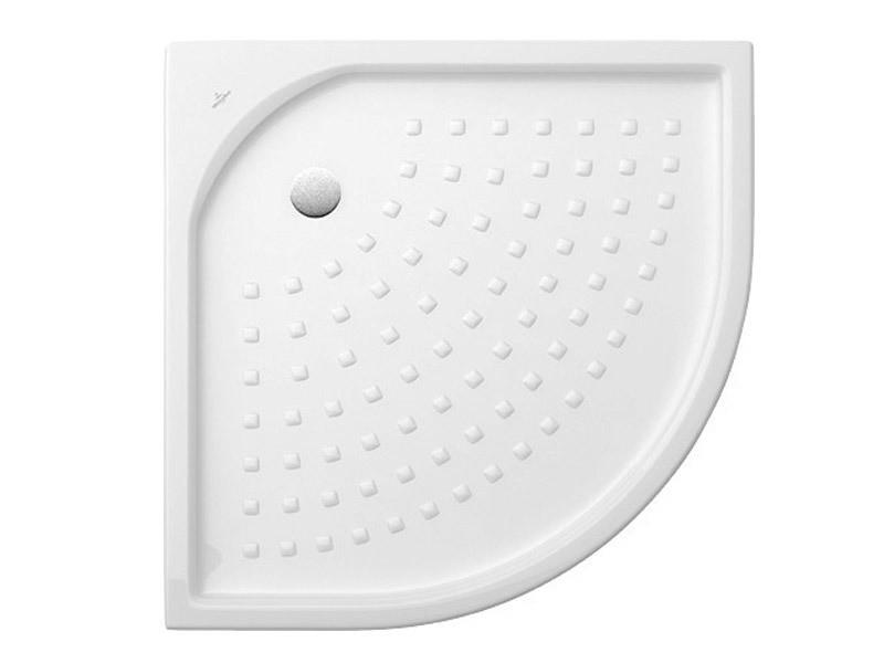 villeroy boch o novo keramik viertelkreis duschwanne. Black Bedroom Furniture Sets. Home Design Ideas