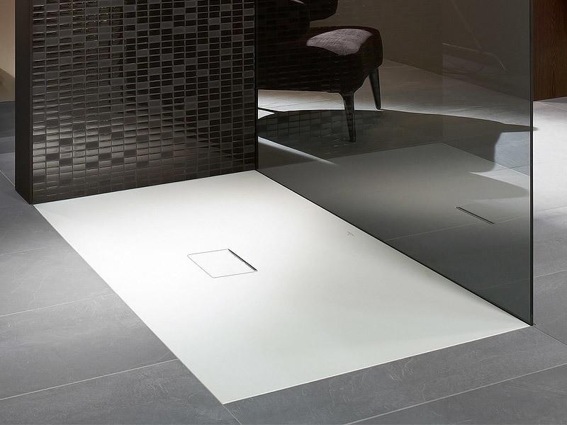 Begehbare Dusche Mit Mosaik Fliesen Villeroy Boch Upper Side Avec ...