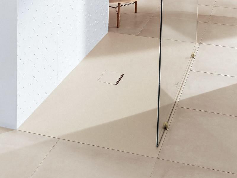 villeroy boch squaro infinity quaryl duschwanne. Black Bedroom Furniture Sets. Home Design Ideas