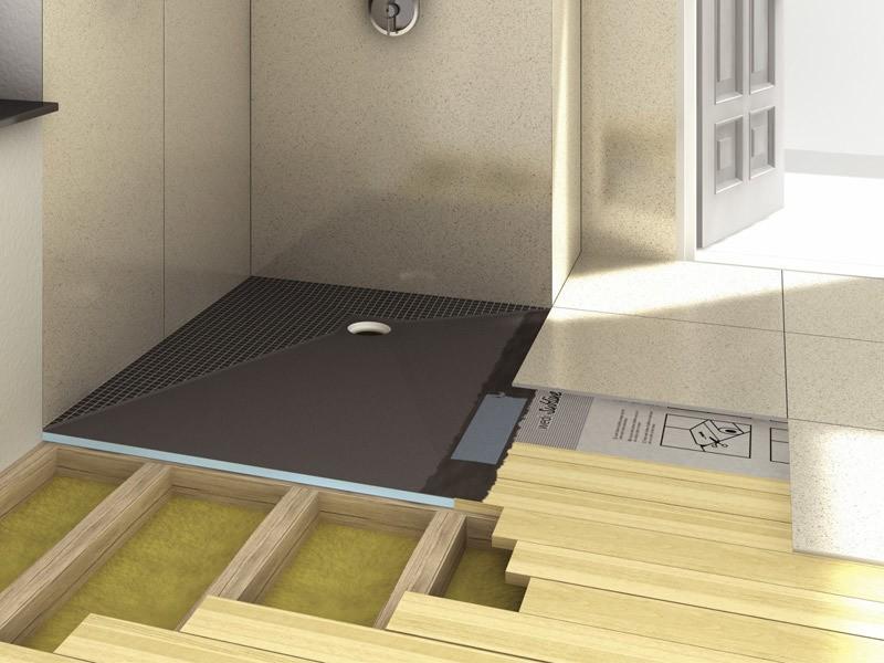 wedi fundo ligno bodenelement f r holzbalkendecken. Black Bedroom Furniture Sets. Home Design Ideas