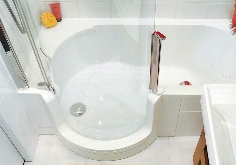 Badewanne Mit Dusche Kombilosung Bad Baddepot De