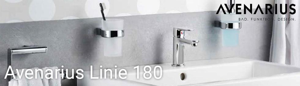 AVENARIUS Waschtischarmatur Einhebelmischbatterie Armatur Linie 180