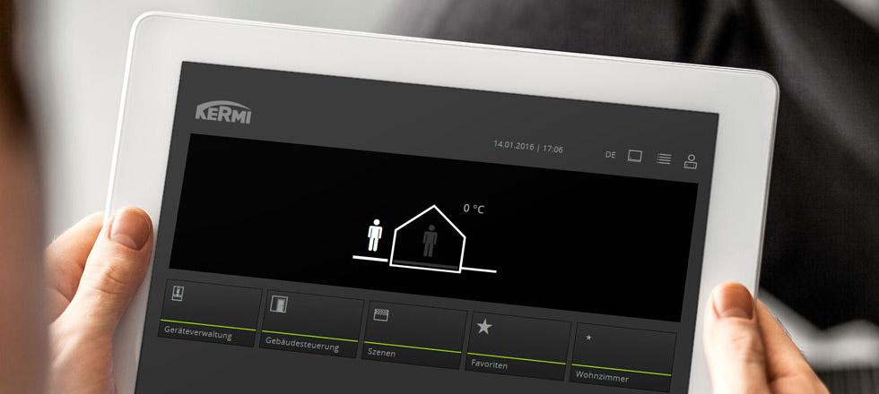 smarthome technik smart heizen. Black Bedroom Furniture Sets. Home Design Ideas