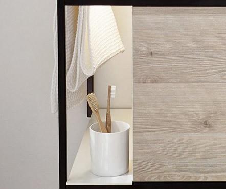 burgbad junit keramik aufsatzwaschtisch mit waschtischunterschrank. Black Bedroom Furniture Sets. Home Design Ideas