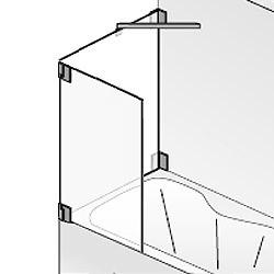 hsk k2 bewegliches element f r badewanne. Black Bedroom Furniture Sets. Home Design Ideas