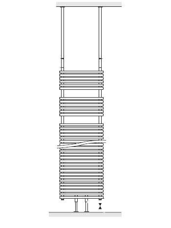 arbonia bagnotherm split raumteiler montage set. Black Bedroom Furniture Sets. Home Design Ideas