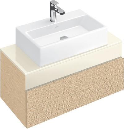 villeroy boch memento waschtischunterschrank 1 auszug. Black Bedroom Furniture Sets. Home Design Ideas