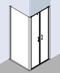 kermi liga eck duschkabine pendelt r 2 teilig. Black Bedroom Furniture Sets. Home Design Ideas