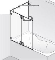 hsk kienle badewannenaufsatz. Black Bedroom Furniture Sets. Home Design Ideas