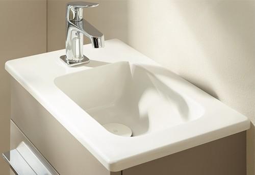 burgbad bel handwaschbecken mit waschtischunterschrank. Black Bedroom Furniture Sets. Home Design Ideas