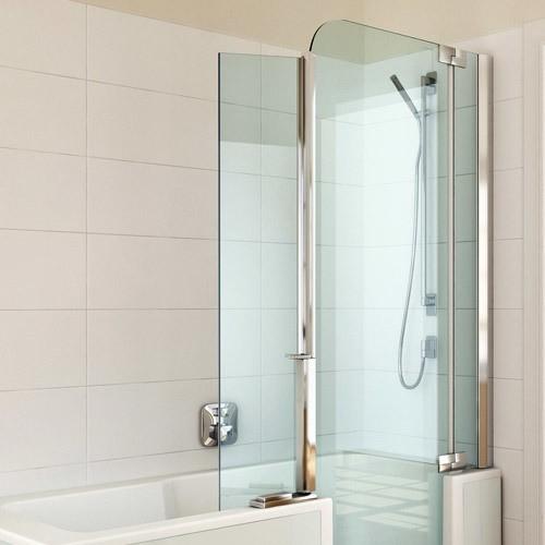 artweger twinline 2 spritzschutz duscht r. Black Bedroom Furniture Sets. Home Design Ideas