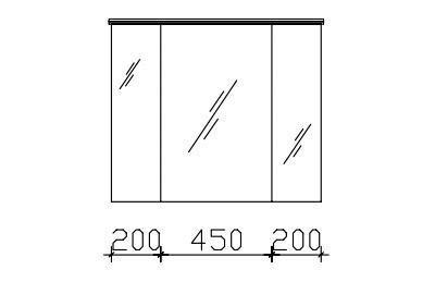 pelipal balto spiegelschrank inkl led lichtkranz. Black Bedroom Furniture Sets. Home Design Ideas