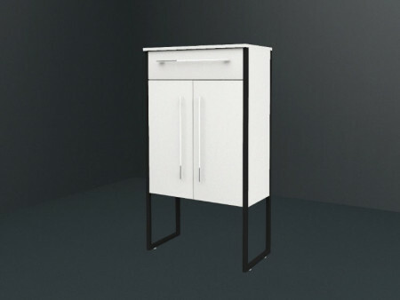 Laguna Industrial Design Highboard Breit | 2 Türen