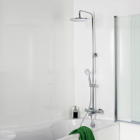 HSK Shower-Set RS 200 Thermostat für Badewanne