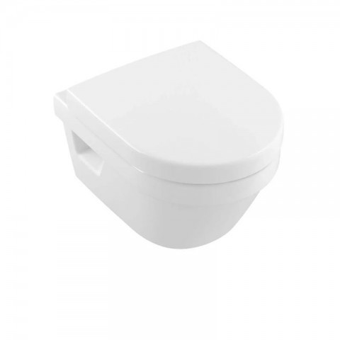 Villeroy & Boch Architectura Wand-WC spülrandlos Compact Combi-Pack