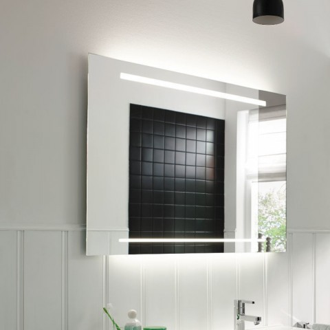 Burgbad Essento LED-Leuchtspiegel