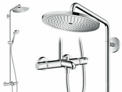 Hansgrohe Croma Select 280 Air 1jet Showerpipe Wanne