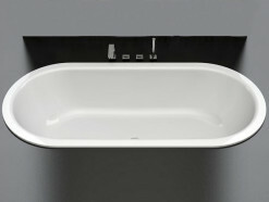 BetteStarlet Flair Oval-Badewanne