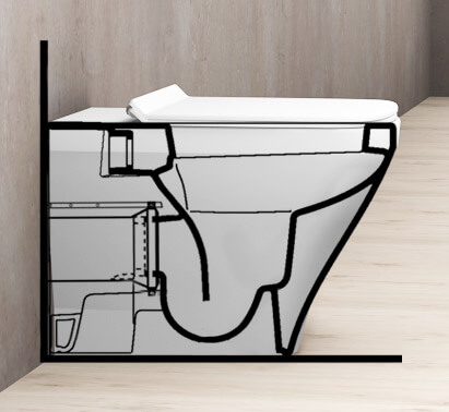 wc ratgeber richtige toilette finden. Black Bedroom Furniture Sets. Home Design Ideas