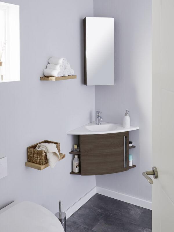 Kleines Bad gestalten | BadDepot.de